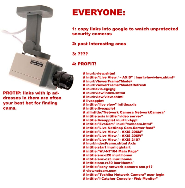 Security Cameras  How to View Public Security Cameras Legally