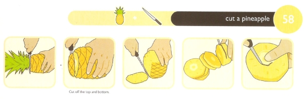 FC 58 Cut a Pineapple1  How to Properly Cut a Pineapple