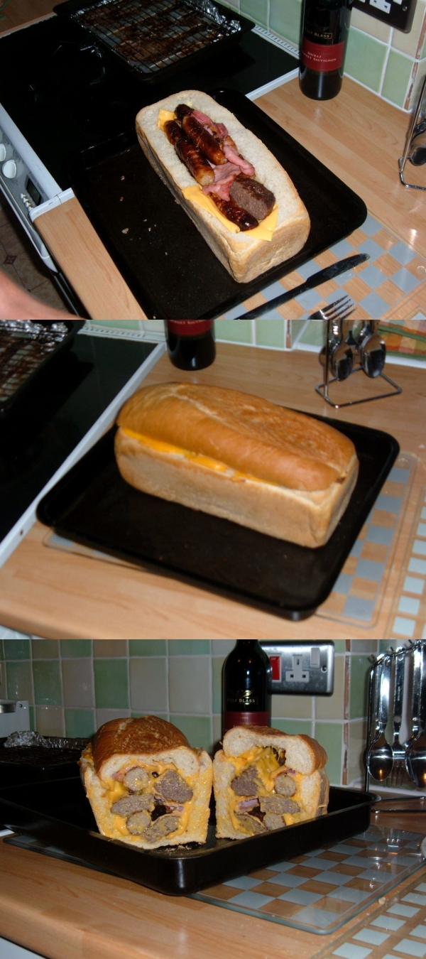 GHT Cheese Meat Loaf  How to Make Real Cheese & Meat Loaf