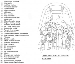 ACS Stuka Cockpit