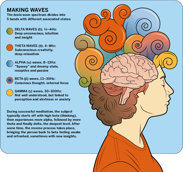 Brain Waves Types Brain Waves And Health