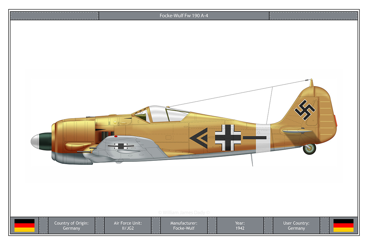 Presented in July 1942, the Fw 190 A-4 was furnished with the same motor and essential deadly implement as the A-3. Overhauled radio apparatus, the FuG 16Z, was established supplanting […]