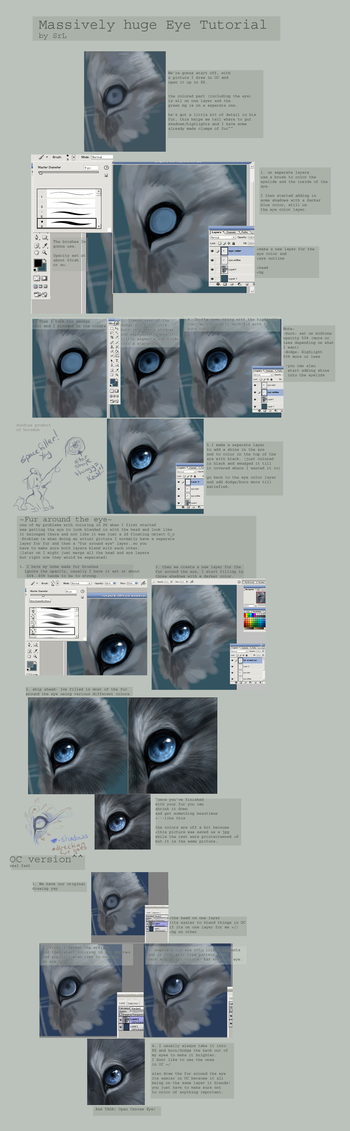 Create a huge eye, and follow this steps.
