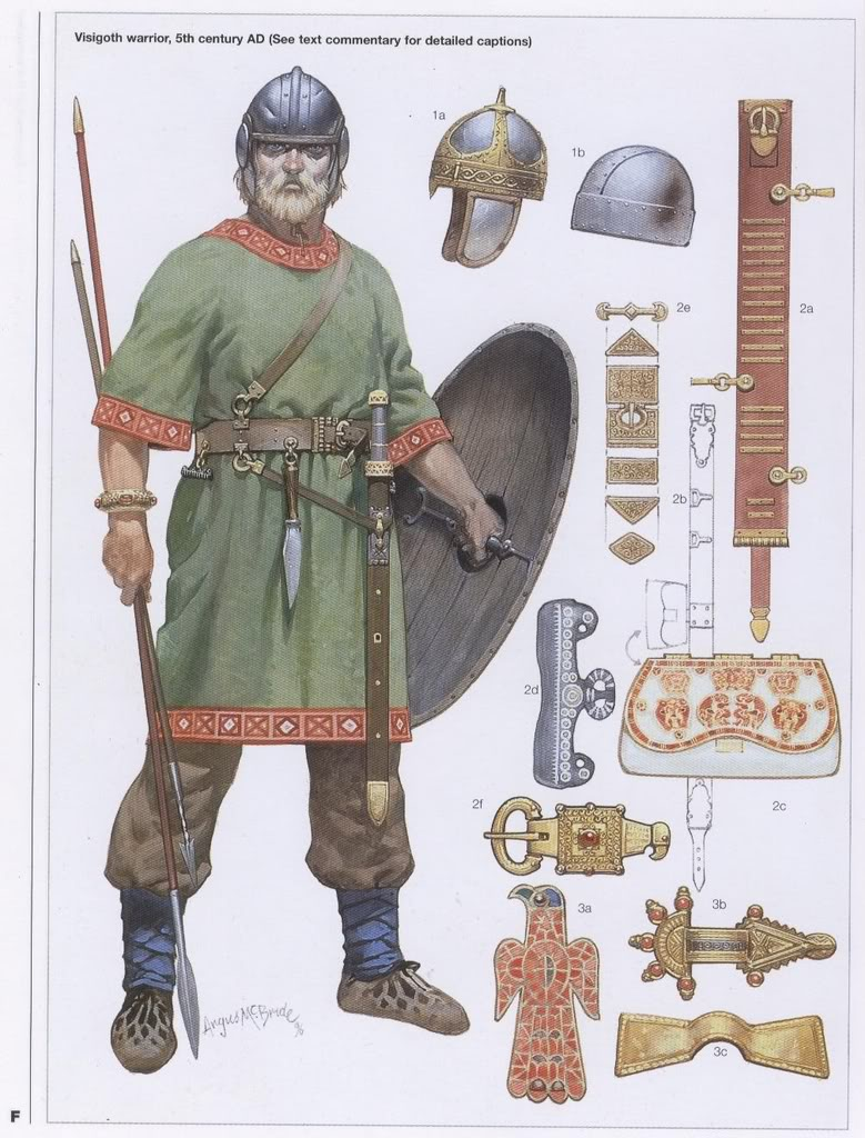 The Visigoths were one of two primary limbs of the later Goths, the Ostrogoths being the different. These roaming tribes were around the Germanic folks who spread through the late […]