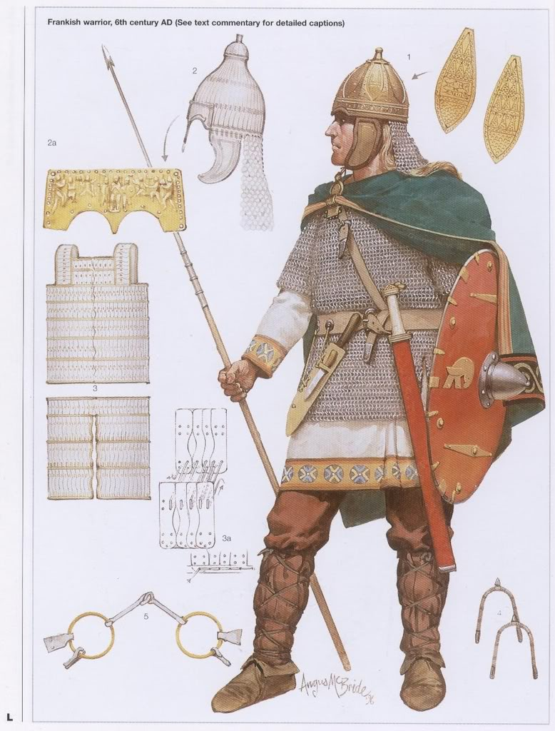 The Franks were a confederation of Germanic tribes first bore witness to in the third century AD as involving arrive on the Lower and Middle Rhine. In the 3rd century […]