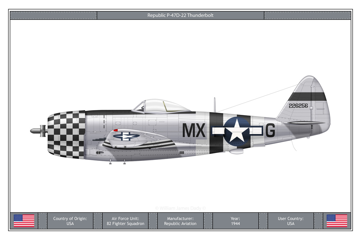 The Republic P-47 was the successor of a line of planes inferred from the Seversky P-35, the XP-41, P-43 Lancer and XP-44 Rocket. The P-47 outline crew headed by Alexander […]