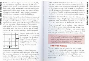 SAS 108 - Map Reading & Direction Finding