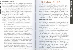SAS 122 - Sea Survival & Abandoning Ships